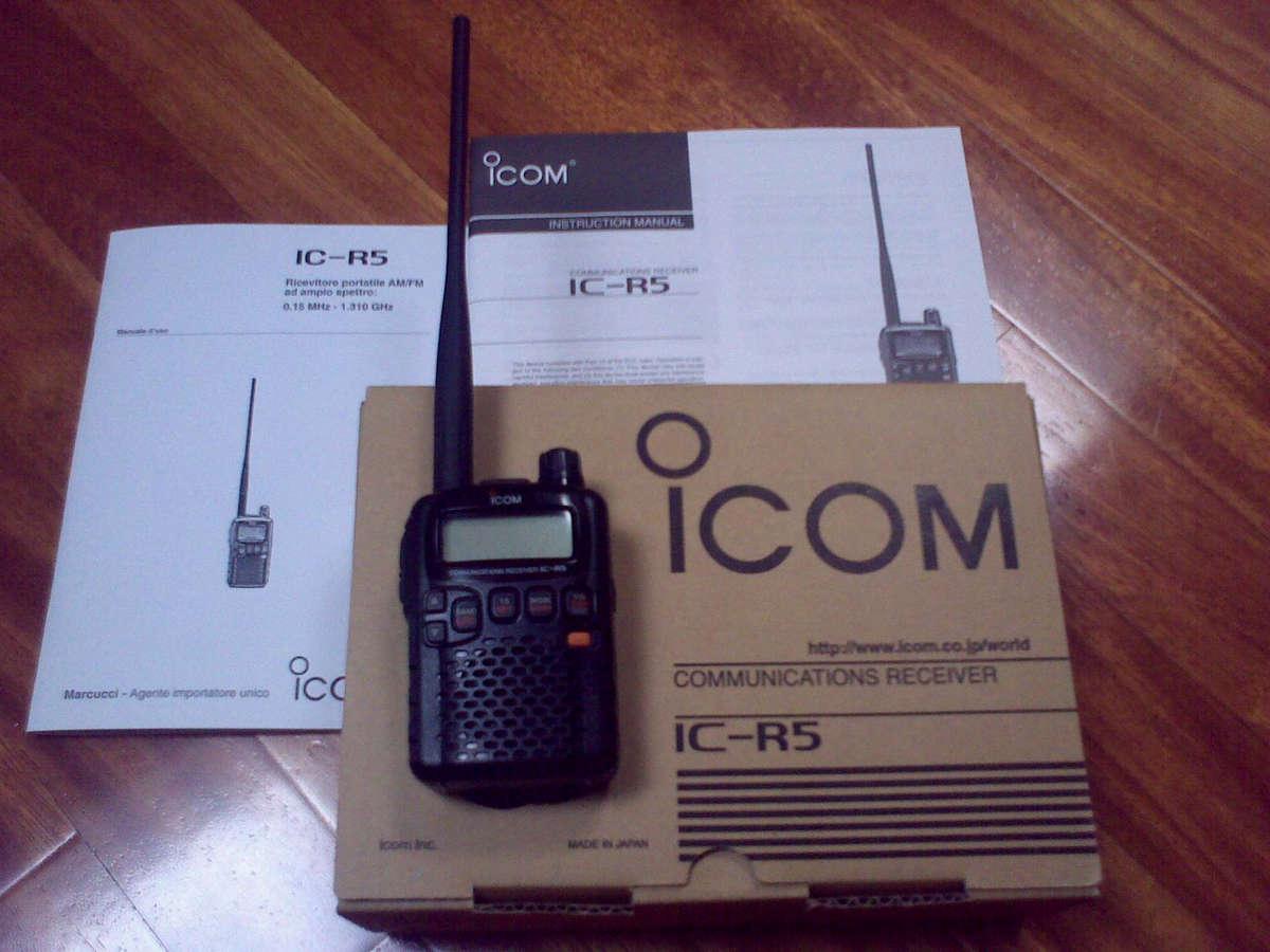 Scanner radio polizia