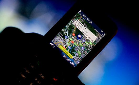 Localizzare un cellulare sulla mappa