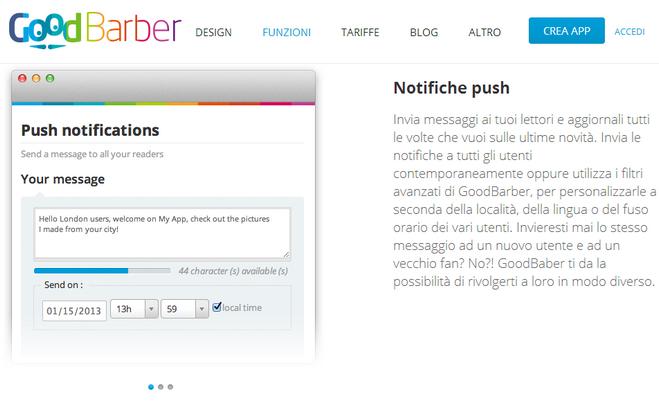 push-goodbarber