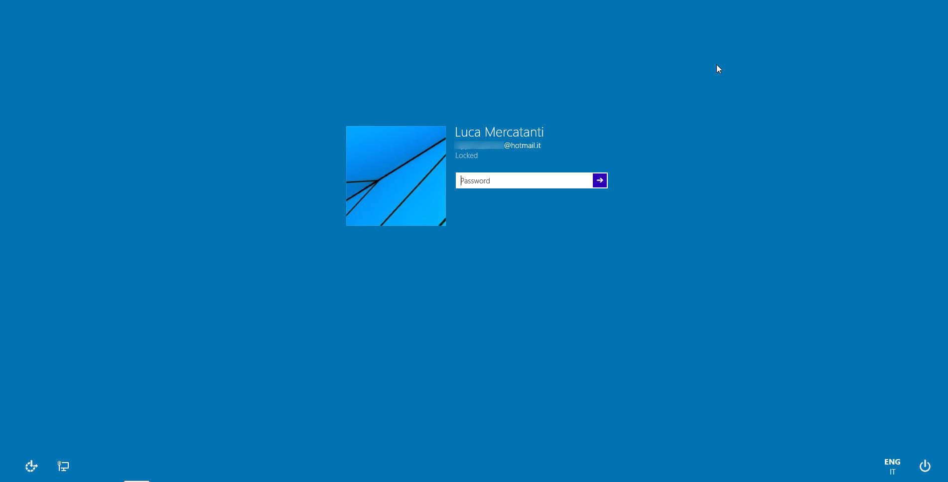 Windows 10 Lockscreen